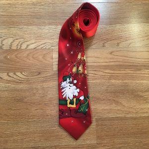 "J. Garcia ""Merry Christmas"" Silk Necktie"